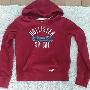 Hollister Women's Hoodie Size L
